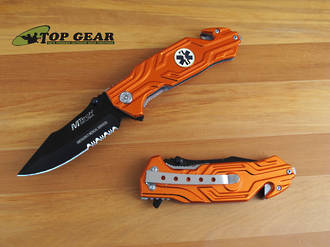 MTech USA Emergency Medical Services Rescue Knife - MT-538EMS