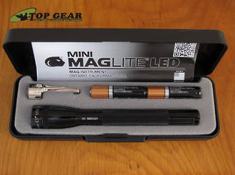 Maglite Mini Maglite AAA LED Torch, Black - 20413