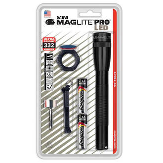 Maglite Mini Maglite PRO LED Torch, NOW with 332 Lumens - SP2P01H