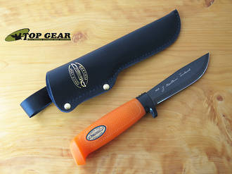 Marttiini Martef Skinning Knife - Orange Handle 186024T
