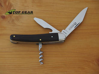 Maserin Maniaghese Classic Pocket Knife with Crokscrew - Rosewood 983