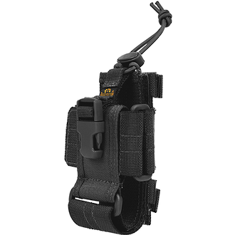 Maxpedition CP-L Radio Cell Phone and Walkie Talkie Holder, Black - 0102B
