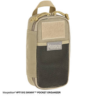 Maxpedition Skinny Pocket Organiser - Khaki PT1312K