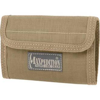 Maxpedition Spartan Nylon Wallet - 0229K Khaki
