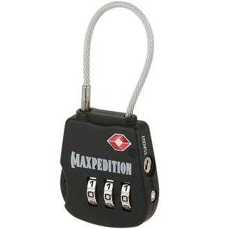 Maxpedition Tactical Luggage Lock - Black TSALOCB or Khaki TSALOCK