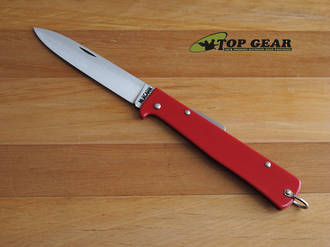 Mercator Folding Pocket Knife, Red, Carbon Steel - K55K