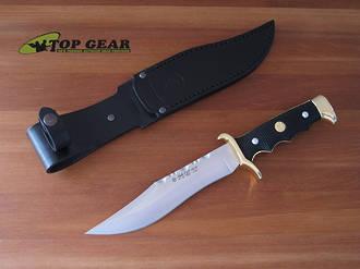 """Miguel Nieto Linea Gran Cazador Bowie Knife, 7"""" Blade - 2002-A"""