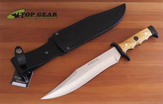 Miguel Nieto Linea Cetreria Bowie Knife, Olive Wood - 2403