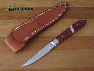 Moki Trout and Bird Fixed Blade Knife - TS-530BEG