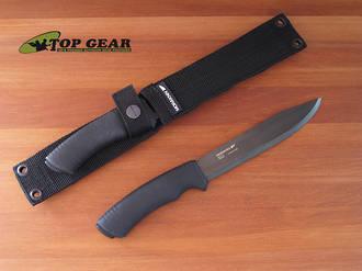 Mora Pathfinder Bushcraft Knife, High Carbon Steel - 11882