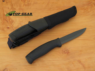 Mora Companion Tactical Knife with Black Blade - 12351