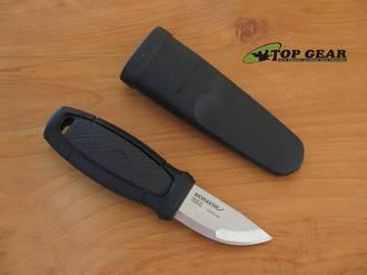 Mora Eldris Pocket-Sized Fixed Blade Knife, Black Handle - 017554