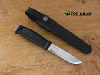 Mora Garberg Knife with Multi-Mount Kit, Stainless - 12642