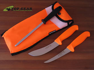 Mora Hunting Set 3000 Set with 2 Knives and Sharpening Steel - 13860