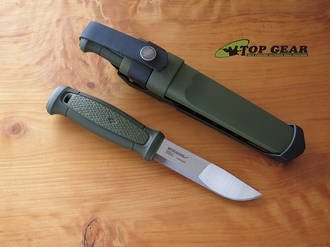 Mora Kansbol Fixed Blade Knife with Multi-Mount Sheath - 17530