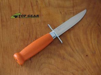 Mora Scout 39 Safe Knife, Orange Handle - 016052