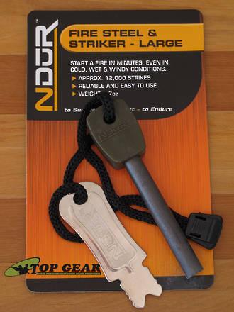 NDUR Firesteel and Striker - 21305-Large
