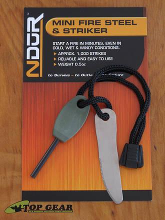 NDUR Mini Swedish Fire Steel and Striker - 31161