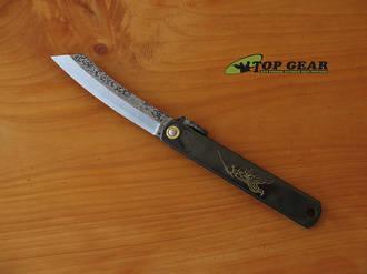 Nagao Higonokami Hammer Finished Pocket Knife - No. 7 HIGO TQ007