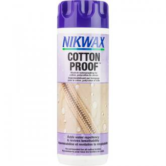 Nikwax Cotton Proof Wash-In Waterprofing for Cotton, Polycotton and Canvas Clothing-300ml