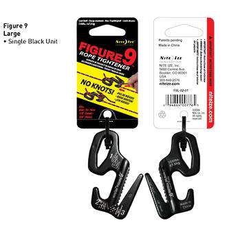 Nite Ize Figure 9 Rope Tightener, Aluminium, Large - F9L-02-01