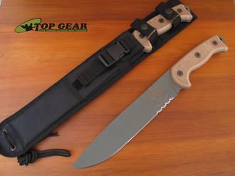 Ontario RTAK II Jungle Knife, Semi-Serrated Edge - 8629