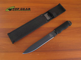 Ontario Ranger Shank Boot Knife with black Paracord Handle - 9410BCH