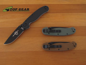 Ontario Knife Company RAT II Pocket Knife - Black, Olive Drab or Coyote Brown