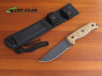 Ontario TAK-1 Survival Knife w 1095 High Carbon Steel Blade - 8602