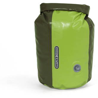 Ortlieb Waterproof Mediumweight Drybag PD350 with Compression Valve, Lime Green, 7L, K4103