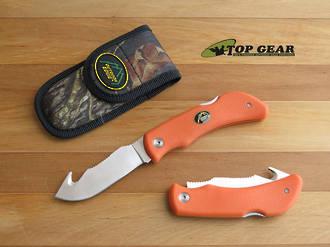 Outdoor Edge Pocket Hook Knife, Blaze Orange - GHB-50