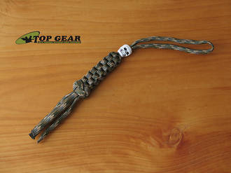 Paracord 550 Knife Lanyard with Skull - Multi-Camo PDPLM