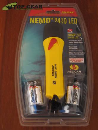 Pelican Nemo 2410 Recoil LED Dive Torch