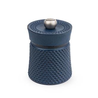 Peugeot Bali Cast Iron Pepper Mill, 8 cm, Blue - 36621