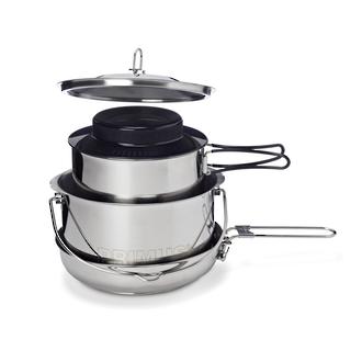 Primus Gourmet Cooking Set, Stainless Steel - 737620