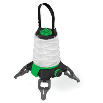 Princeton Tec Helix Basecamp Rechargeable Dual-Power LED Lantern - HX3-GN