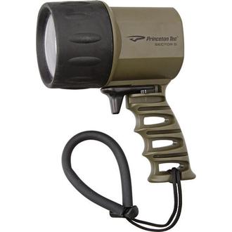 Princeton Tec Sector 5 LED Spotlight/Dive Light, 550 Lumen, Olive Drab - SPOT-OD