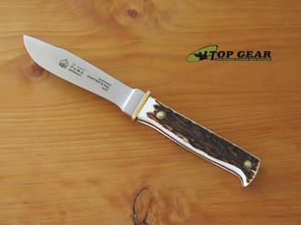 Puma Hunter's Pal Staghorn Hunting Knife - 116397