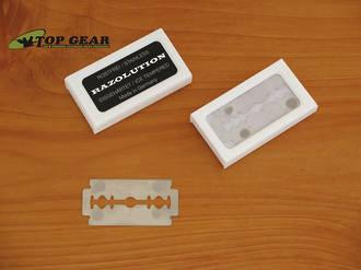 Razolution Ice Tempered Razor Blades for Safety Razor - 10-Pack 85930