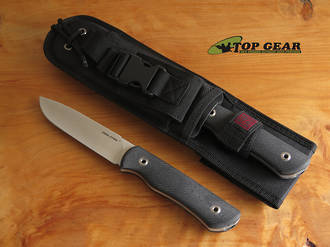 Real Steel Bushcraft Plus Fixed Blade Knife Set, G10 Handle - 3719