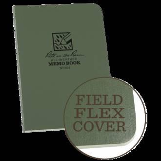 Rite In The Rain All-Weather Field Flex Memo Book, Green - 954