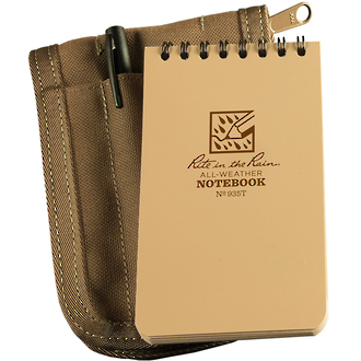 "Rite In The Rain All-Weather Pocket Top 4x6"" Notebook Kit - Tan 946T-KIT"
