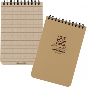 Rite In The Rain All-Weather Spiral Notebook - Tan 946T