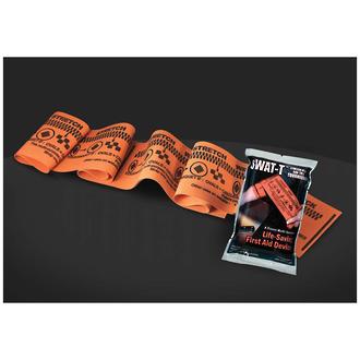 SWAT-T Stretch Wrap and Tuck Tourniquet, Orange - SWATTO