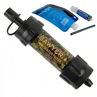 Sawyer Pointone Mini Water Filtration System, Camo - SP107