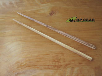Scanwood Olive Wood Chopsticks, Olive Wood - 651