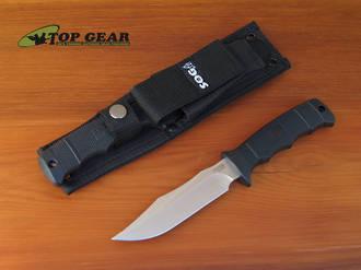 SOG Seal Pup Elite Knife with Nylon Sheath - E37-N