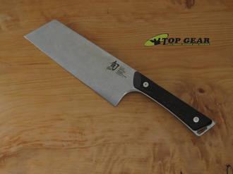 Shun Kanso 7 Inch Utility Knife, Tagayasan Wood - SWT-0767BRK