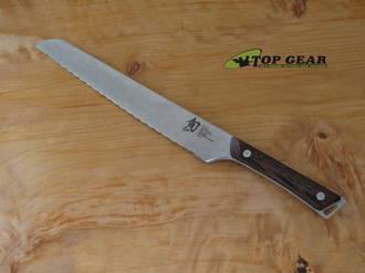 Shun Kanso 9 Inch Bread Knife, Tagayasan Wood - SWT-0708BRK