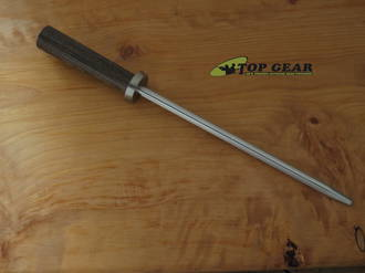 """Shun Kanso 9"""" Combo Honing Steel, Tagayasan Wood - SWT0790BRK"""